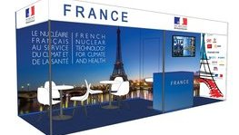 Presentation and opening of the French Exhibition Booth
