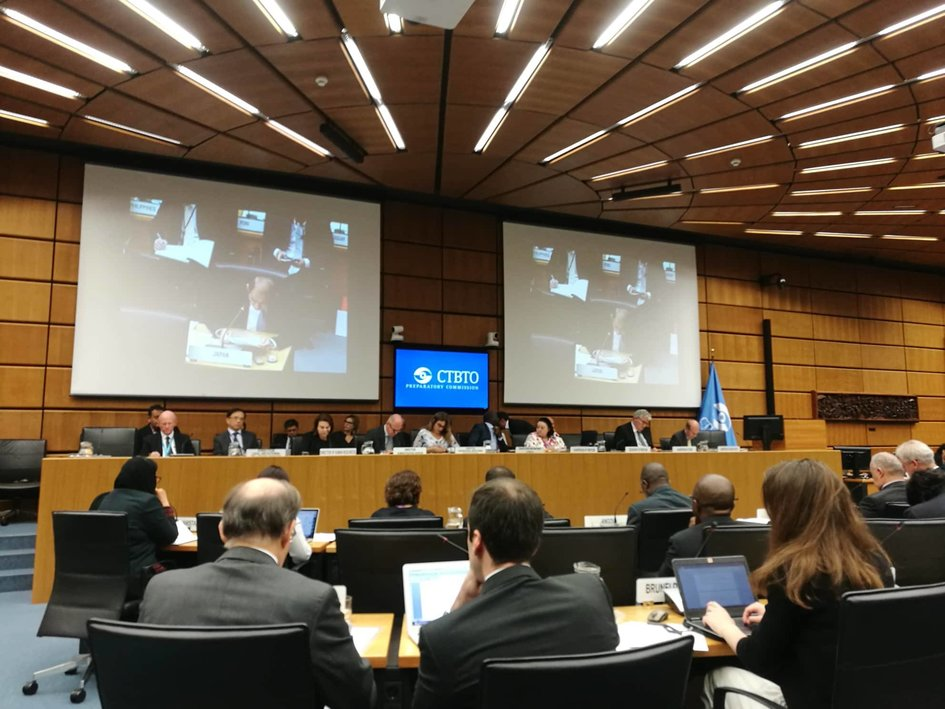 Opening of the 50th session of the CTBTO PrepCom, with the participation of delegations from the States Signatories of the Treaty. - JPEG